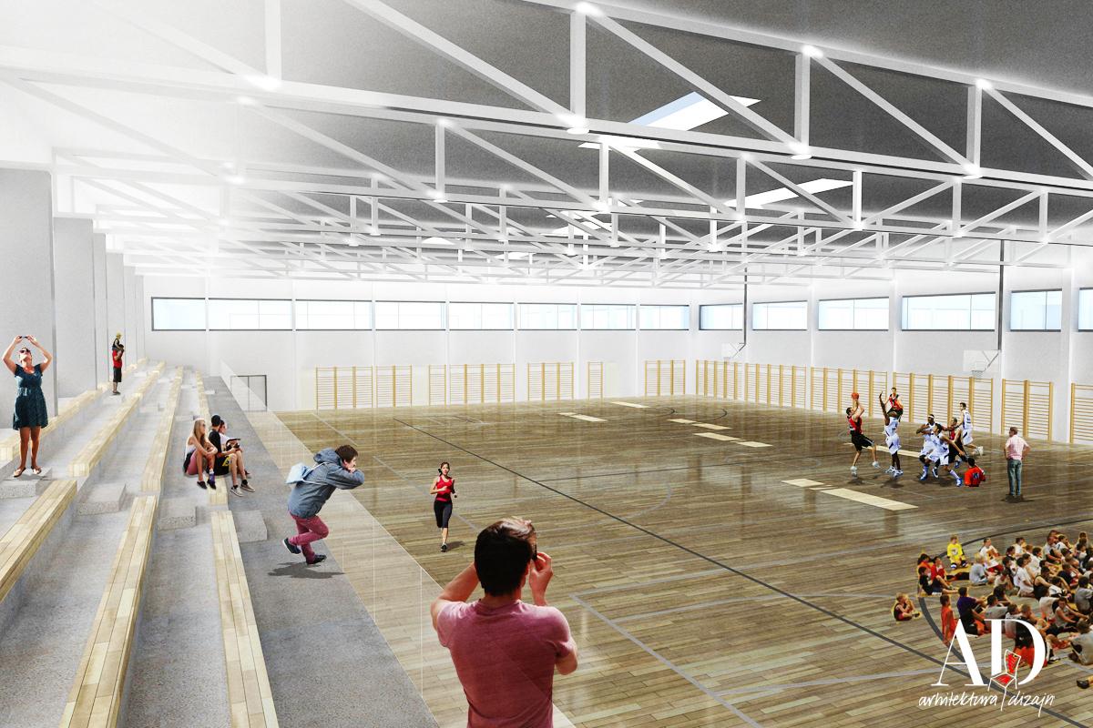 """Vođenje projekta dogradnje OŠ """"Dr. Mate Demarina"""" i izgradnje sportske dvorane u Medulinu - Primum ing d.o.o."""