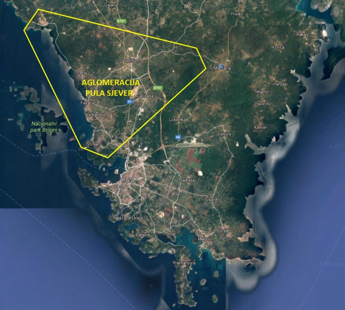 Sustav odvodnje aglomeracije Pula - Sjever - Primum ing d.o.o.
